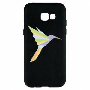 Phone case for Samsung A5 2017 Bird flying abstraction - PrintSalon