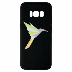Phone case for Samsung S8 Bird flying abstraction - PrintSalon