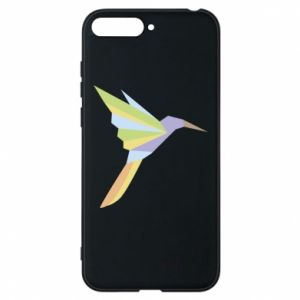Phone case for Huawei Y6 2018 Bird flying abstraction - PrintSalon