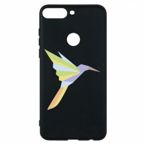 Etui na Huawei Y7 Prime 2018 Bird flying abstraction