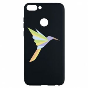 Phone case for Huawei P Smart Bird flying abstraction - PrintSalon