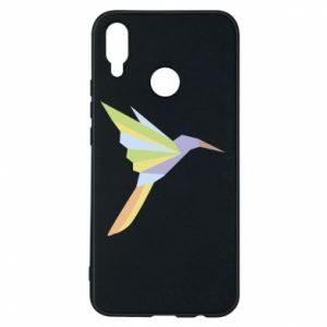 Etui na Huawei P Smart Plus Bird flying abstraction