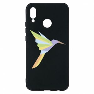 Etui na Huawei P20 Lite Bird flying abstraction