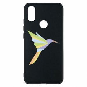 Phone case for Xiaomi Mi A2 Bird flying abstraction - PrintSalon