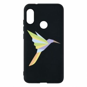 Etui na Mi A2 Lite Bird flying abstraction