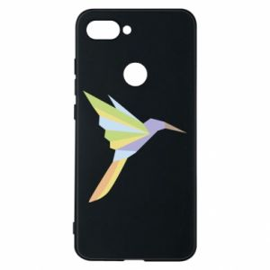Phone case for Xiaomi Mi8 Lite Bird flying abstraction - PrintSalon