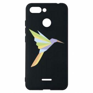 Phone case for Xiaomi Redmi 6 Bird flying abstraction - PrintSalon