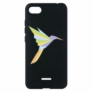 Phone case for Xiaomi Redmi 6A Bird flying abstraction - PrintSalon