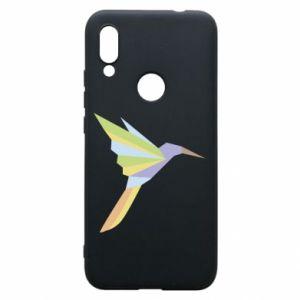 Phone case for Xiaomi Redmi 7 Bird flying abstraction - PrintSalon