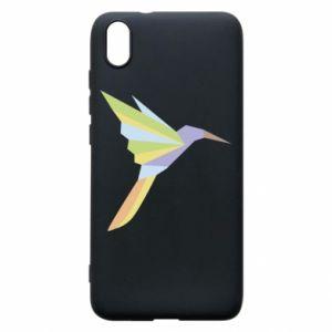 Phone case for Xiaomi Redmi 7A Bird flying abstraction - PrintSalon