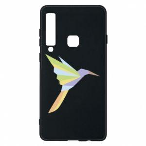 Phone case for Samsung A9 2018 Bird flying abstraction - PrintSalon