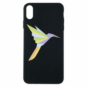 Etui na iPhone Xs Max Bird flying abstraction