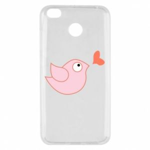 Etui na Xiaomi Redmi 4X Bird is catching up with the heart