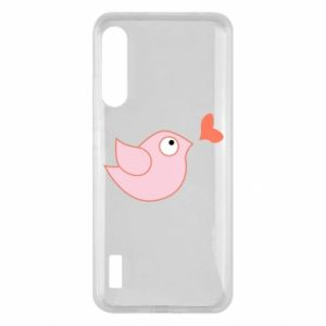 Etui na Xiaomi Mi A3 Bird is catching up with the heart