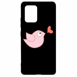 Etui na Samsung S10 Lite Bird is catching up with the heart