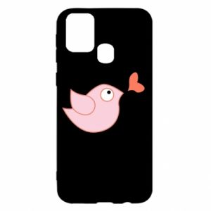 Etui na Samsung M31 Bird is catching up with the heart