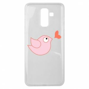 Etui na Samsung J8 2018 Bird is catching up with the heart