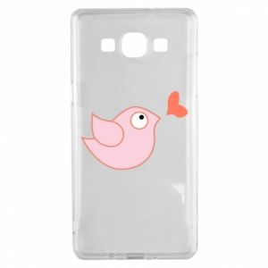 Etui na Samsung A5 2015 Bird is catching up with the heart