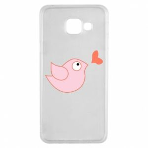 Etui na Samsung A3 2016 Bird is catching up with the heart