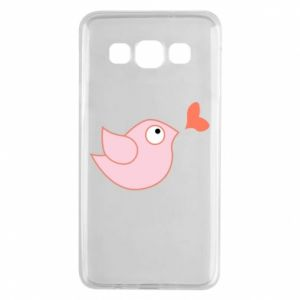 Etui na Samsung A3 2015 Bird is catching up with the heart