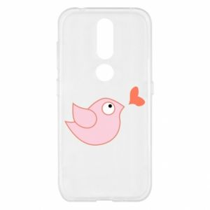 Etui na Nokia 4.2 Bird is catching up with the heart