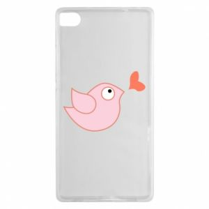 Etui na Huawei P8 Bird is catching up with the heart