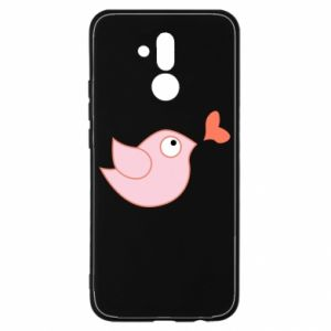 Etui na Huawei Mate 20 Lite Bird is catching up with the heart