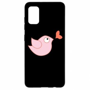 Etui na Samsung A41 Bird is catching up with the heart