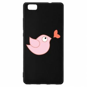 Etui na Huawei P 8 Lite Bird is catching up with the heart