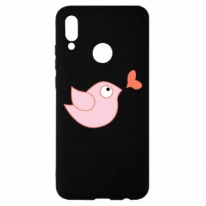 Etui na Huawei P Smart 2019 Bird is catching up with the heart