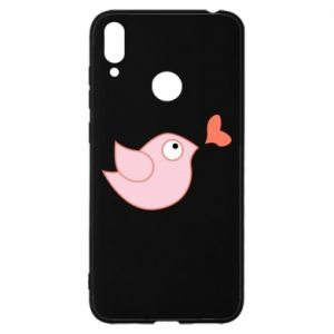 Etui na Huawei Y7 2019 Bird is catching up with the heart