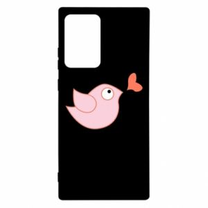 Etui na Samsung Note 20 Ultra Bird is catching up with the heart