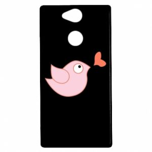 Etui na Sony Xperia XA2 Bird is catching up with the heart