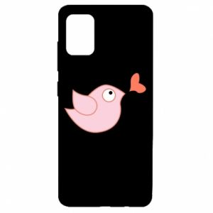 Etui na Samsung A51 Bird is catching up with the heart