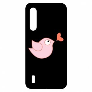 Etui na Xiaomi Mi9 Lite Bird is catching up with the heart
