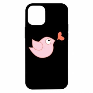 Etui na iPhone 12 Mini Bird is catching up with the heart