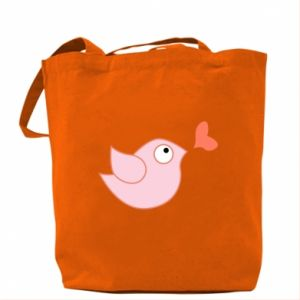Bag Bird is catching up with the heart - PrintSalon