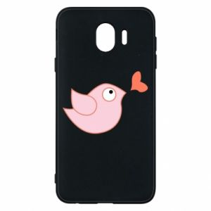 Phone case for Samsung J4 Bird is catching up with the heart - PrintSalon