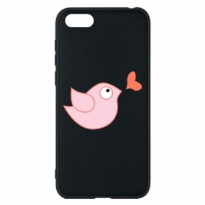 Phone case for Huawei Y5 2018 Bird is catching up with the heart - PrintSalon