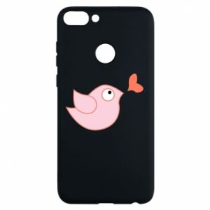 Phone case for Huawei P Smart Bird is catching up with the heart - PrintSalon