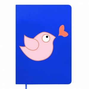 Notepad Bird is catching up with the heart - PrintSalon