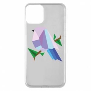 Etui na iPhone 11 Bird on a branch abstraction