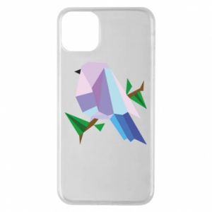 Etui na iPhone 11 Pro Max Bird on a branch abstraction