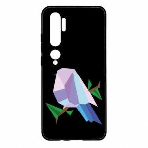 Etui na Xiaomi Mi Note 10 Bird on a branch abstraction