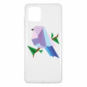 Etui na Samsung Note 10 Lite Bird on a branch abstraction