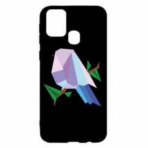 Etui na Samsung M31 Bird on a branch abstraction