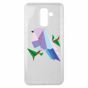 Etui na Samsung J8 2018 Bird on a branch abstraction