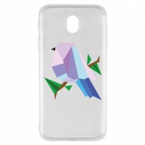 Etui na Samsung J7 2017 Bird on a branch abstraction