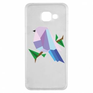 Etui na Samsung A3 2016 Bird on a branch abstraction