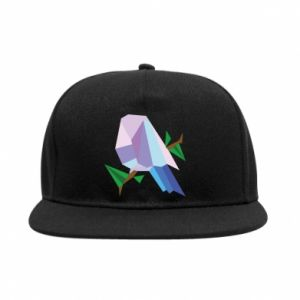 SnapBack Bird on a branch abstraction - PrintSalon